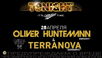 26 APR ★ OLIVER HUNTEMANN & TERRANOVA ★ Crystal Room post thumbnail image